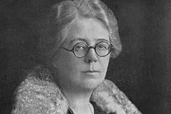 The first woman to qualify as a chartered accountant